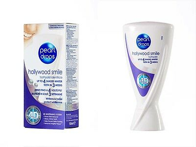 Pearl Drops - Hollywood Smile up to 4 shades whiter teeth in 3 weeks whitening