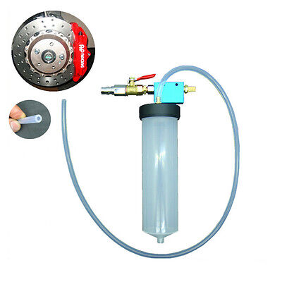 Brake Fluid Replacement Tool Pump Oil Drained Tools Air Extractor Bleeder Kit