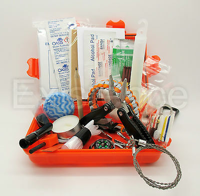 EMERGENCY SURVIVAL KIT scouts cadets military camping hiking bushcraft EDC