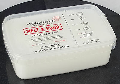 Opaque White 2kg Melt and Pour Soap Base - SLS Free - Soap Making
