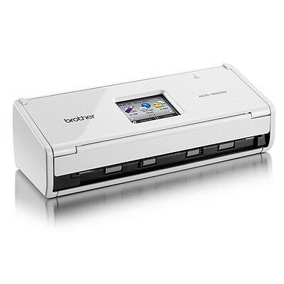 BROTHER High-Speed Wireless Compact Scanner ADS-1600W / Exp. Free Shipping