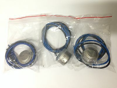 3 x DEFROST TERMINATION THERMOSTATS SUITS WESTINGHOUSE KELVINATOR UNIVERSAL 0601