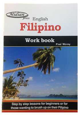Learn Filipino tagalog work book learn to speak tagalog