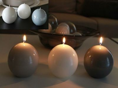 12 Candle Glossy Ball .9cm Diam Asst Colours Bulk Wholesale lot reduced to clear