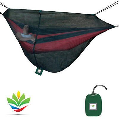 Hammock Bliss Mosquito Net Cocoon - Complete Bug Protection For Camping Hammocks