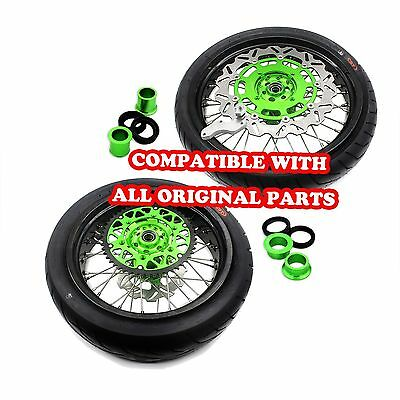 5.0*17 Cst 150 Tire Kawasaki Oem Size Supermoto Wheel Set Kx250F 04-17 Kx450F