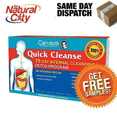 Carusos Quick Cleanse 15 Day Detox Program- Free Sample
