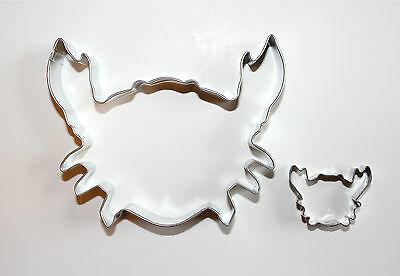Set Of Two Metal Crab Cookie Cutters Free Shipping