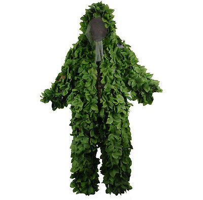 Leaves Camouflage Maple Camouflage Ghillie Suit Sniper Hunting Clothes /Jacket 1