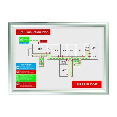 Tamper proof Security Snap Frames Poster Holder Retail Displays Schools