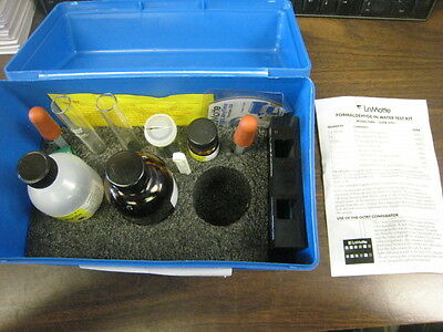 Used Laotte Fd 6701-01 Formaldehyde In Water Test Kit Free Shipping