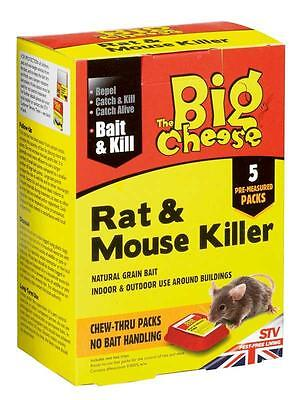 THE BIG CHEESE Rat & Mouse Killer 200g