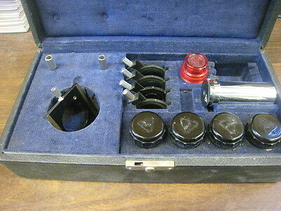Bausch Lomb Microscope Objectives & Filters (1) 43X, (1) 21x, (1) 97x, (1) 10X