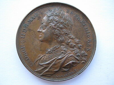 1760 George II Memorial medal, 41mm by Dassier. Eimer 681.