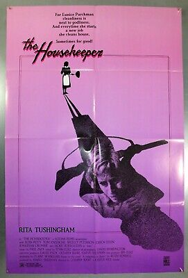 The Housekeeper - Rita Tushingham / Ross Petty - Original Usa 1Sht Movie Poster
