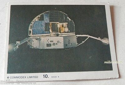 Vintage Carte Collection N° 10 COMMODEX LIMITED : OSO 3 (Operation MOON)