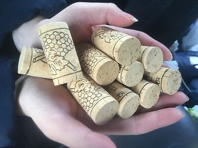Wine Corks GRADE AAA+ 100% Real Corks LOT of x10