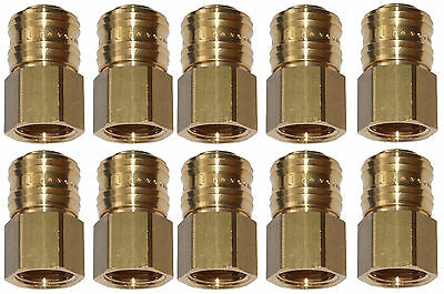 10x Compressed Air Couplings – Quick Clutch Socket NW7 IG Various Sizes