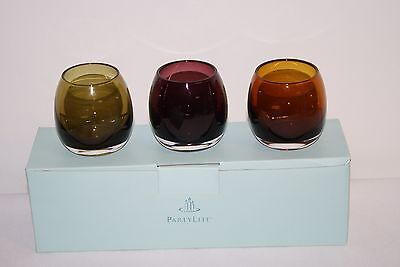 Partylite ColorScape Votive Trio Brand New In Box Retired P8980