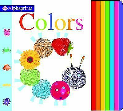 Alphaprints: Colors by Roger Priddy (2015, Board Book)