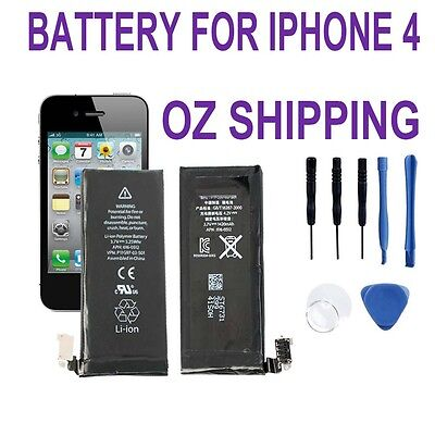OZ Internal Replacement Battery For apple iphone 4 4G with Tool Genuine Capacity