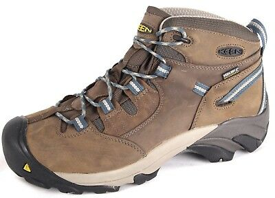 Keen Men's Utility Detroit Mid Steel Toe Waterproof Safety Work Boots Hiker 7004