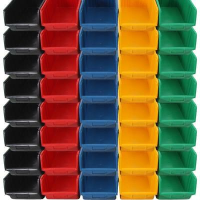 Yellow Open Storage Box lagerbox stapelbox Stackable Boxes Sorting Box