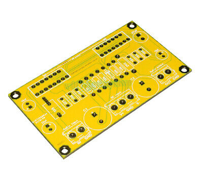 1pcs TDA7293 Dual Chip in Parallel Power Amplifier Bare PCB Board DIY 78x38mm