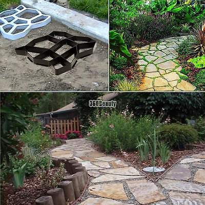 Brick Driveway Paving Patio Concrete Slabs Path Pathmate Garden Walk Maker Mould