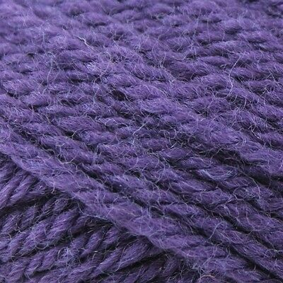 50g Balls - Cleckheaton 8ply Country - 100% Wool - Deep Violet #2181 - $4.95