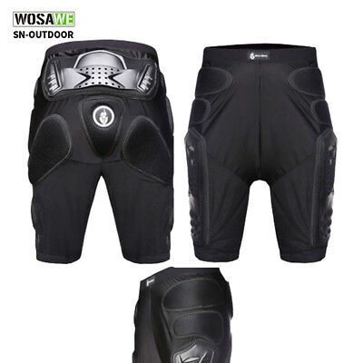 WOLFBIKE Motorcycle Motocross Racing Ski Armor Pads Hips Legs Protection Shorts
