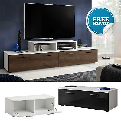 TV Cabinet Unit Stand High Gloss Fronts Modern Body Matt Living Room Furniture