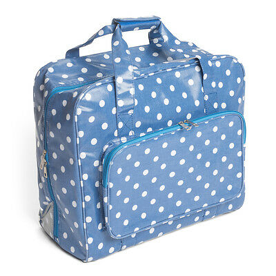 Sewing Machine Bag (PVC) - Denim Spot (Blue) - Hobbygift - MR4660188