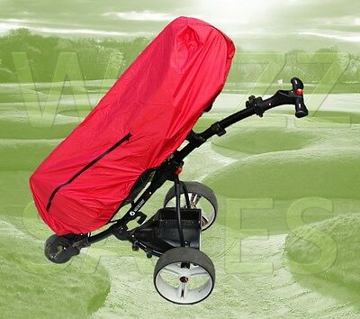 Red Waterproof Golf Bag Rain Protection Cover Cape