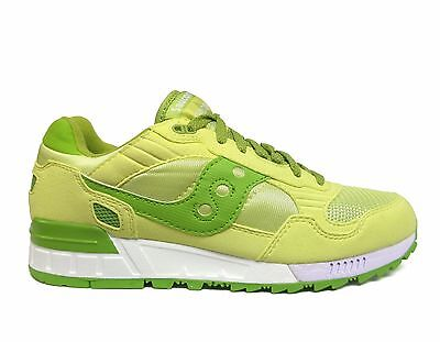 SAUCONY WOMEN'S SHADOW 5000 MAIN SQUEEZE Running Shoes Lime S60033 75 a1