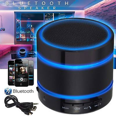 Portable Wireless Bluetooth Mini Speaker Stereo for iPhone Samsung Phone Tablet