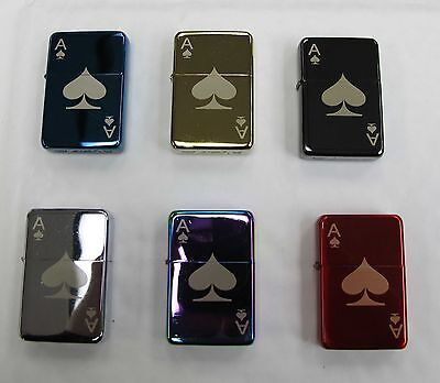 Ace of Spades 299 Personalised Engraved Star Lighter In Gift Tin