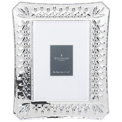"Waterford Crystal Lismore Picture Photo Frame 4"" x 6"""
