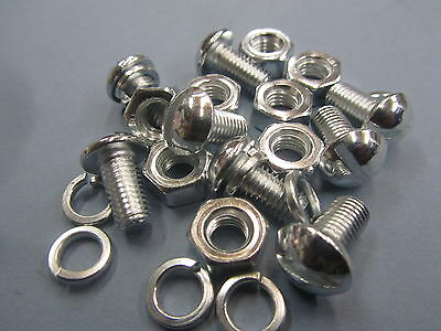 Reflector Fixing Kit, Screws, Nuts, And Washers Set Of 8