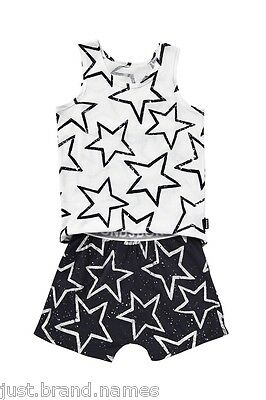 Bonds Girls Boys Children 2 Piece Singlet PJ Sleepwear Set sizes 3 4 5 6 7 Stars