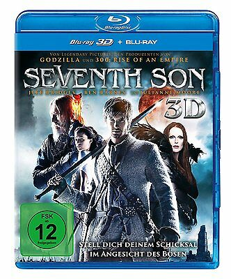 SEVENTH SON 3D [2014] (Blu-ray 3D+2D Region-Free)~~~~Jeff Bridges~~~~NEW SEALED