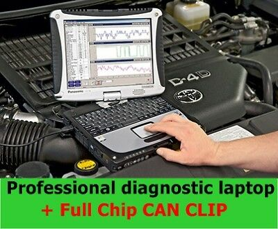 Professional Diagnostic Laptop and FULL CHIP Can Clip