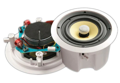 """Accento Dynamica 8"""" 2-Way In-Ceiling Speakers (Single) 8Ohm / 100V - ADS1880"""