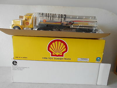 Shell 1998 Toy Tanker Truck - 3rd in a Series - Equity Marketing - New in Box