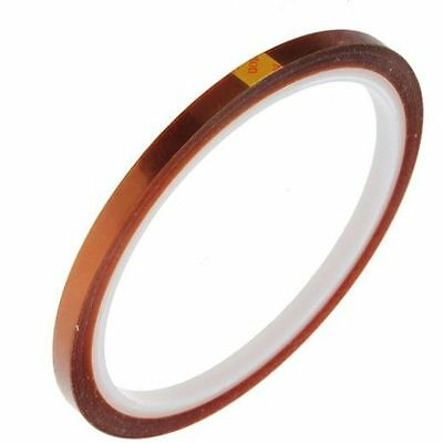 5mm x 33M Kapton Tape High Temperature Heat Resistant Polyimide