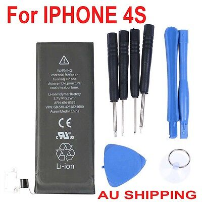 OZ Internal Replacement Battery For Apple Iphone 4S with Tool Genuine Capacity