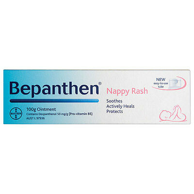 Bepanthen Nappy Care Ointment 100g Baby Every Day Protection Care of Nappy Rash