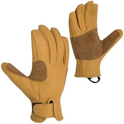 NEW Metolius Belay Climbing Gloves Small  Natural FREE SHIPPING