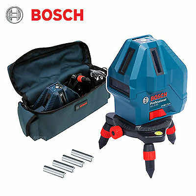 Bosch GLL5-50X Professional 5 Line Laser Level Self-Leveling