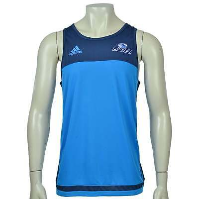 Adidas Blues Singlet Blue and Navy